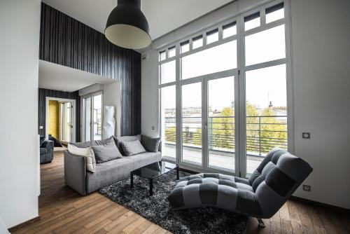Les Appartements Paris Clichy : Apartment near Gennevilliers
