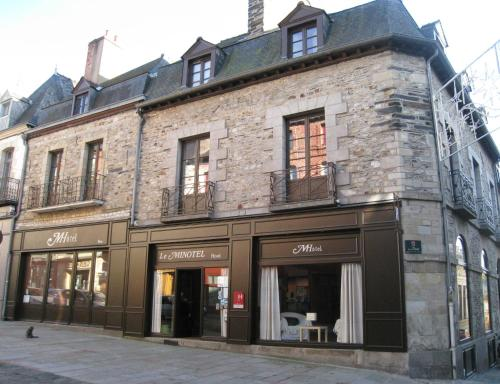 Le Minotel : Hotel near Saint-M'Hervé