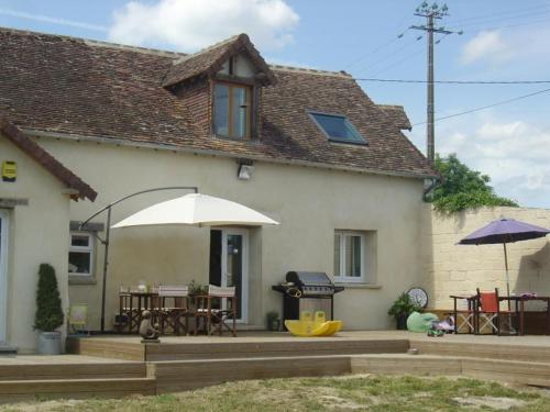 Maison Ensoleillee : Guest accommodation near Saint-Germain-du-Corbéis
