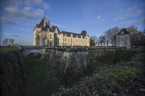 Chateau De Jalesnes : Guest accommodation near Cuon