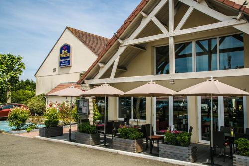 Best Western Amarys Rambouillet : Hotel near Écrosnes