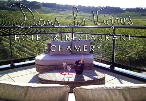 Dans les Vignes : Guest accommodation near Baslieux-sous-Châtillon