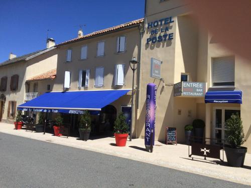 Hôtel de La Poste : Hotel near Saint-Jean-du-Bruel