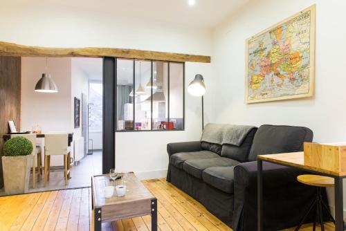 Unsejouranantes - Gîte Lamoricière : Apartment near Bouguenais