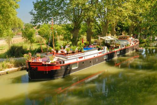 Péniche Appart des Anges : Bed and Breakfast near Cers