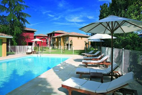 Appart'City Toulouse Saint Simon : Guest accommodation near Pins-Justaret