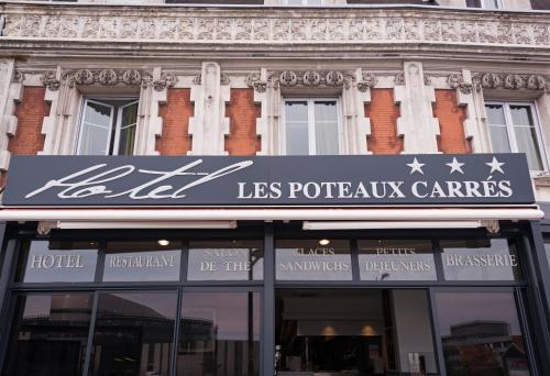 Hôtel Les Poteaux Carrés : Hotel near Saint-Héand