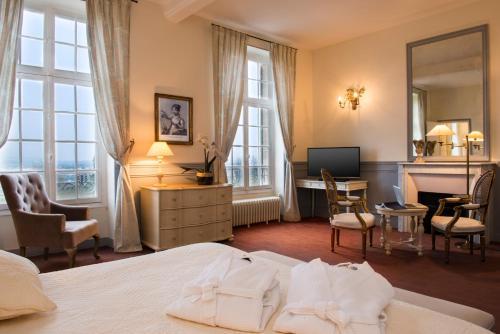 Hôtel Château de l'Hermitage : Hotel near Boisemont