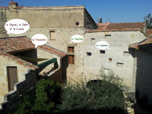Le Petit DoMeynes : Apartment near Montfrin