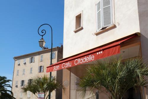 Hotel San Carlu Citadelle : Hotel near Ajaccio