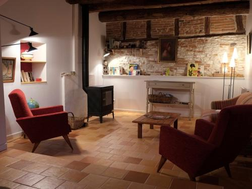 Préau Saint-Jacques : Bed and Breakfast near Lagarrigue