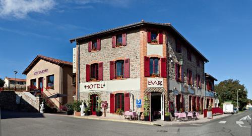 L'escale Halloaise : Hotel near Saint-Médard-en-Forez