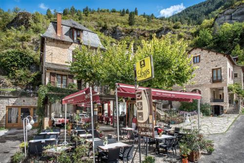 Auberge de la Cascade : Hotel near Sainte-Enimie