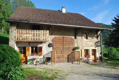 La Loupiote : Guest accommodation near Frangy