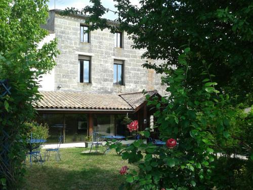 Hotel Entre 2 Mers Proche Bordeaux : Hotel near Saint-Gervais