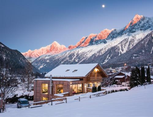Chalet Rubicon : Guest accommodation near Les Houches