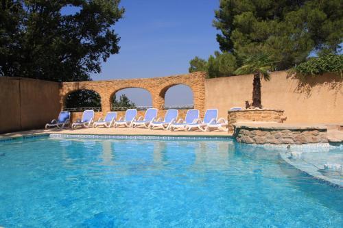 Gîtes La Pousterle De Sabran : Guest accommodation near Cavillargues