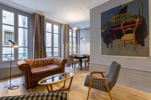Curiosité : Apartment near Lyon 1er Arrondissement