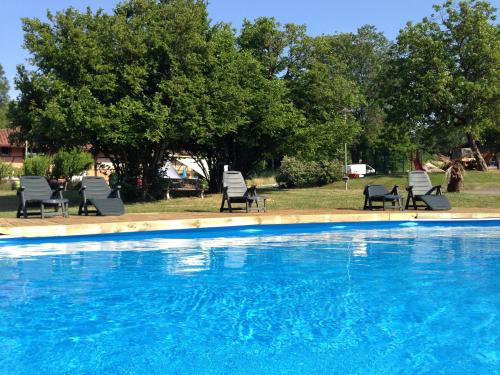 Domaine de Mepillat : Guest accommodation near Curciat-Dongalon