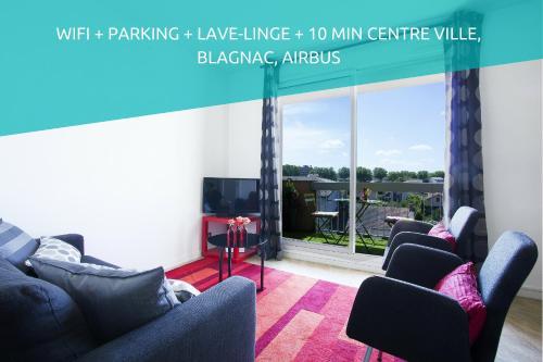 Havre De Paix : Apartment near Blagnac