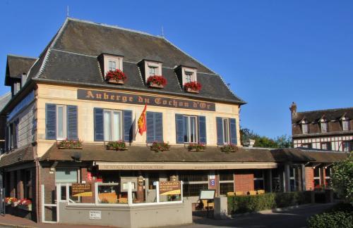 L'auberge Du Cochon D'or : Hotel near Saint-Benoît-d'Hébertot