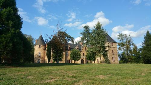 Château de Bussolles : Guest accommodation near Saint-Léon