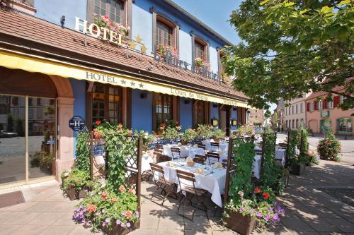 L'Ours De Mutzig : Hotel near Scharrachbergheim-Irmstett