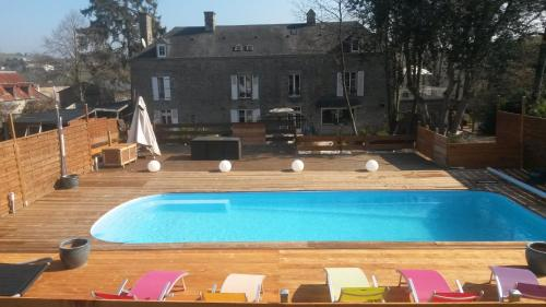 Manoir de Condé B&B Spa : Guest accommodation near Montchauvet