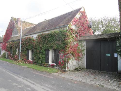 Les Deux Noyers : Bed and Breakfast near Nonville