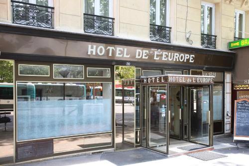 Grand Hôtel De L'Europe : Hotel near Paris 10e Arrondissement