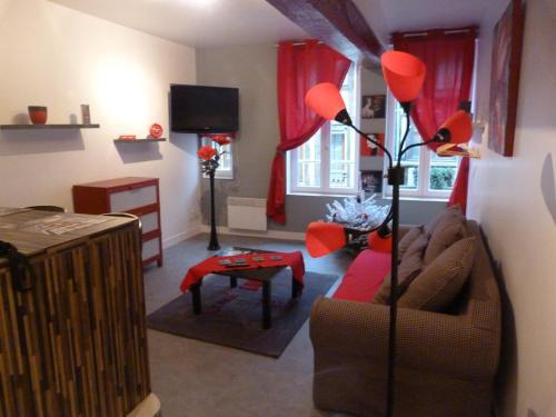 Maison D'Helena studio coquelicot : Apartment near Honfleur
