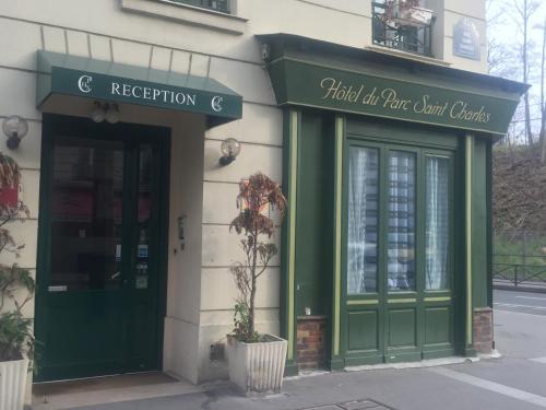 Hôtel Du Parc Saint Charles : Hotel near Issy-les-Moulineaux