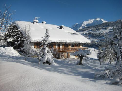appartement vue mont blanc, chalet à Megève : Apartment near Combloux