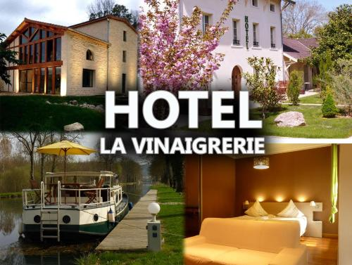 Hôtel La Vinaigrerie : Guest accommodation near Valleret