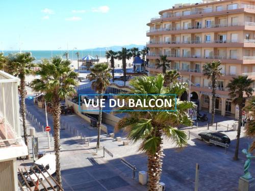 Appartement Terrasse vue Mer : Apartment near Canet-en-Roussillon