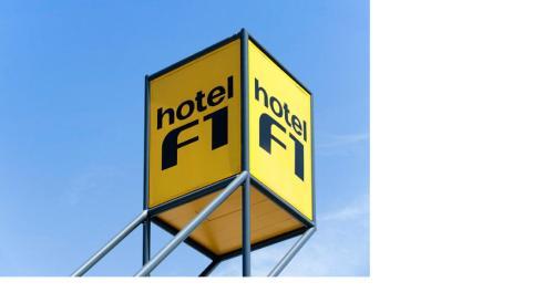 hotelF1 Montauban : Hotel near Canals