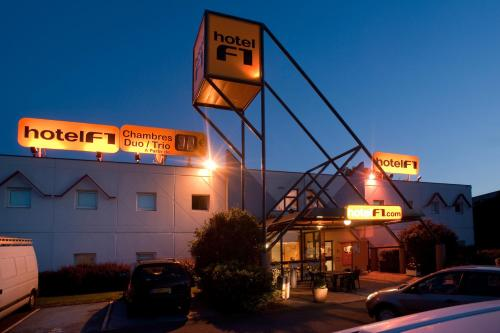 hotelF1 Saint Brieuc : Hotel near Saint-Brieuc
