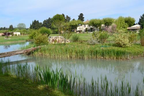 La Bastide des Amouriers : Bed and Breakfast near Caumont-sur-Durance