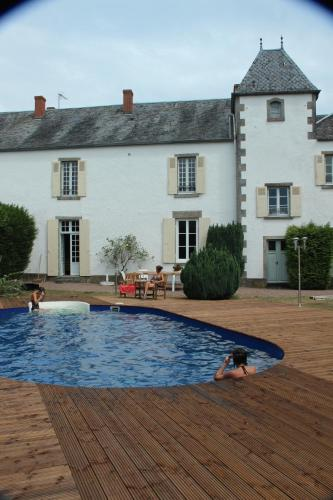 Manoir du Chagnot : Bed and Breakfast near Beaulieu