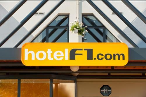 hotelF1 Caen Nord Mémorial : Hotel near Saint-Contest