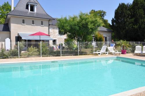 Camping Brantome Dordogne Puynadal : Guest accommodation near Monsec