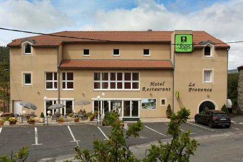 Hotel Spa Restaurant Le Provence : Hotel near Saint-Étienne-de-Lugdarès