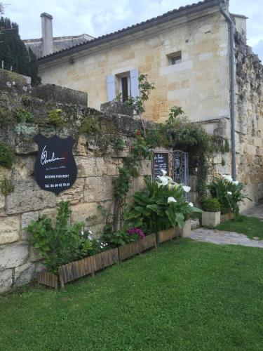 Les Chambres d'Ovaline : Guest accommodation near Saint-Christophe-des-Bardes