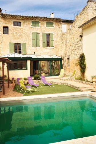 Hôtel Particulier Payan Champier : Guest accommodation near Saint-Paul-Trois-Châteaux
