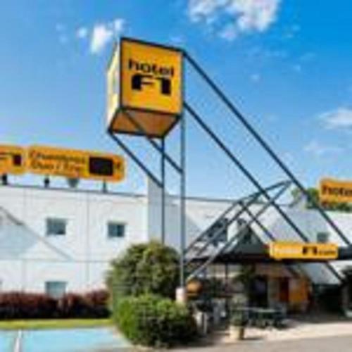 hotelF1 Besancon Ouest Micropolis - : Hotel near Busy