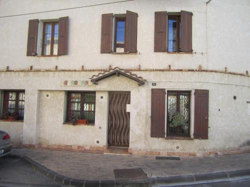 Chez Léonie et Eponine : Apartment near Sablet