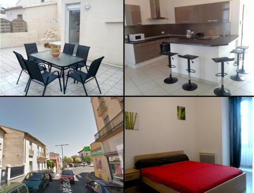 Apparts Perpi Centre : Apartment near Baho