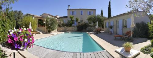 La Bastide du Clos d'Ezort : Bed and Breakfast near Souvignargues