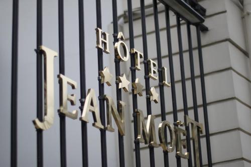 Hotel Jean Moët : Hotel near Fleury-la-Rivière