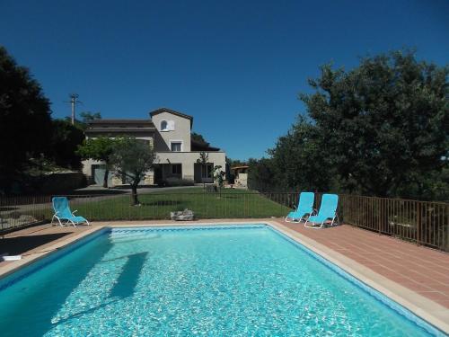 Villa Pradeloup : Guest accommodation near Saint-Maurice-d'Ardèche